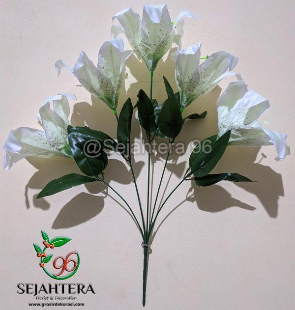 Bunga Lily MR Putih