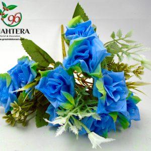 rose star artificial cabang 5 warna biru