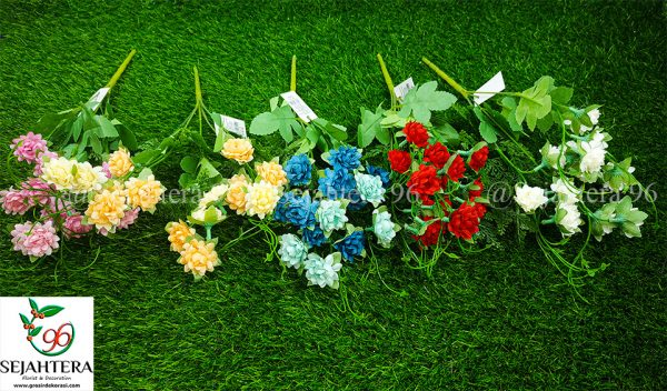 bunga gurita kain semua warna