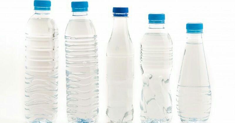 Melindungi tanaman dengan botol air mineral bekas