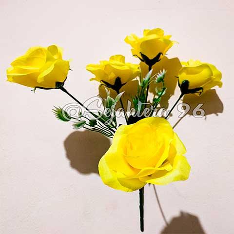 bunga rose sj kuning