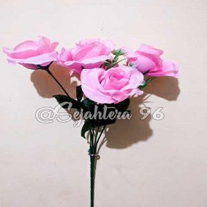 bunga rose sj pink