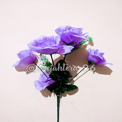 bunga rose sj ungu