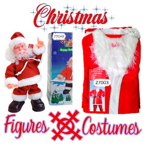 Christmas Figure and Costume