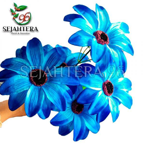 Bunga Amarilis X5 Biru