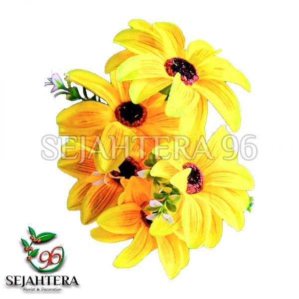 Bunga Amarilis X5 Kuning