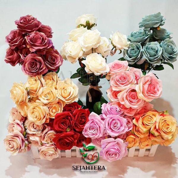 Bunga mawar Cabang 9