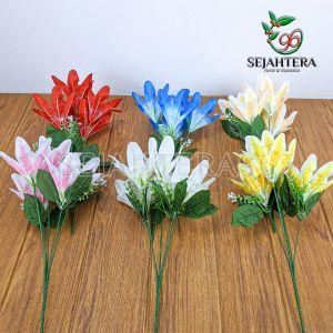 Bunga Lily Mini Cabang 5