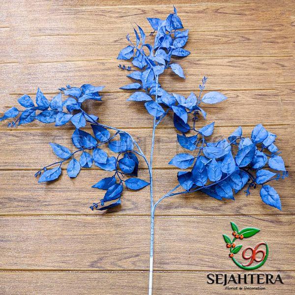 Daun mawar autumn cabang 3 Biru