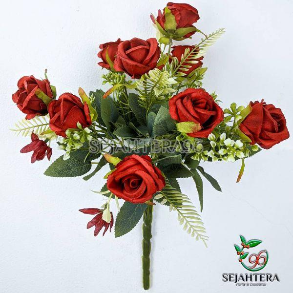 Rose Kuncup Elegant Merah